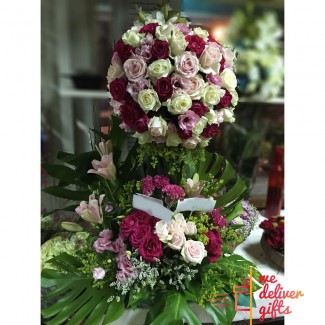 My Queen Wedding Flowers Arrangement