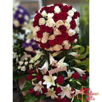 Forever Mine Wedding Flowers Arrangement