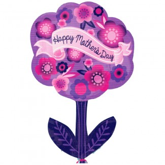 Happy Mother Day Flower Balloon