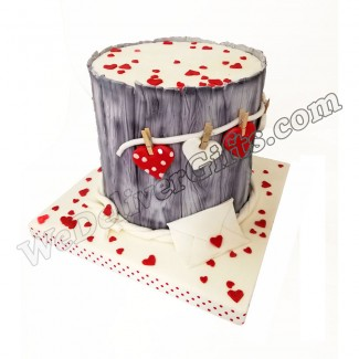 Hey honey you ve got mail Cake