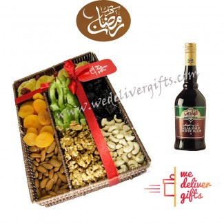 Ramadan Dried fruits and Jallab Syrup