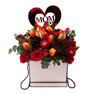 Love you Mum Flowers Selection