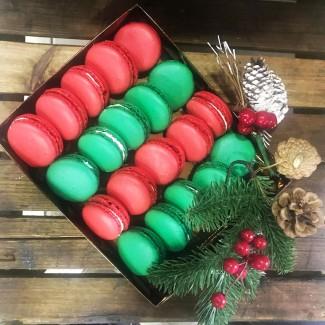 Christmas Macaron Gift