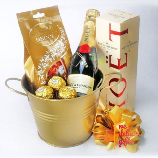 Me, My Chocolate and My Moet