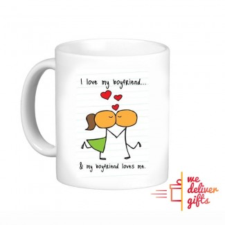 Cartoon Love Mug