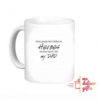 Hero Dad Personalized Mug