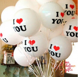 Tell it with Love Balloons