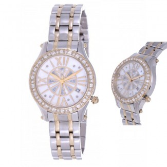 Police For Women Mother of Pearl Dial Stainless Steel Band Watch
