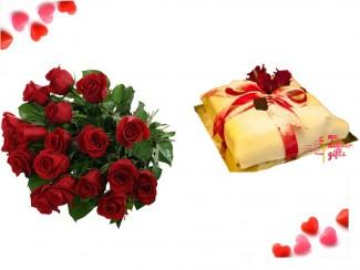 La Vie En Red Roses