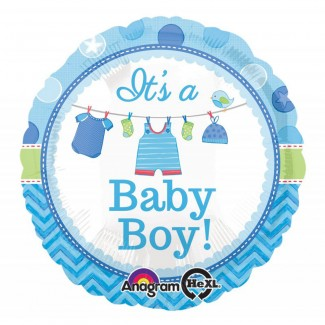It is a Baby Boy Balloon