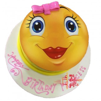 Miss Beauty Smiley Cake