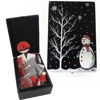 Snowmen box