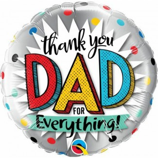 Thank You DAD for everything Balloon