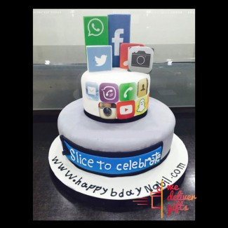 Application Addict Cake
