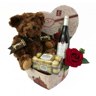 Harrods Bear In a Sweet Package