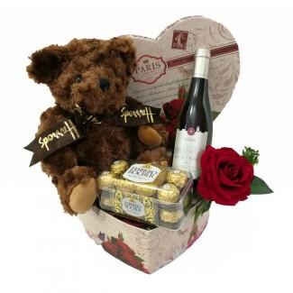 Harrods Bear In a Sweet Package