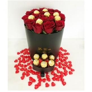 Valentine Combo Roses-Ferrero