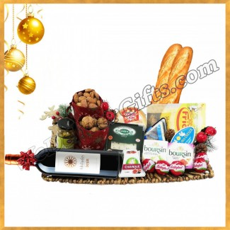 Luxury Christmas Cheese and wine Tray