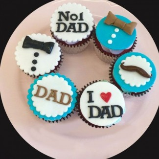 No 1 Dad Cupcakes