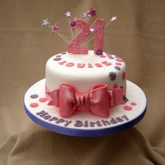 Sweet 21 Cake