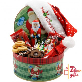 Santa Cookies Surprise Box