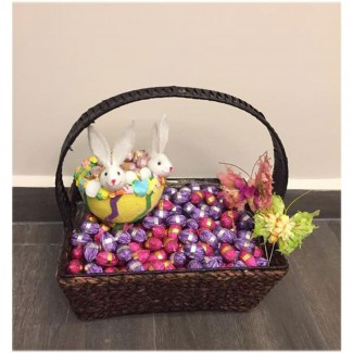 Easter Chocolate in a Classy Basket