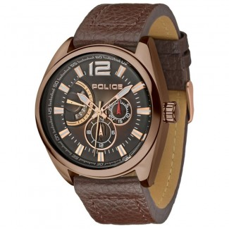Velocity Round Analog Brown Dial Men s Watch