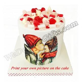You and Me Cake