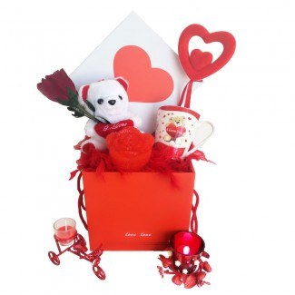 You light up my life gift box