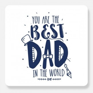 You are the Best Dad Postal Card