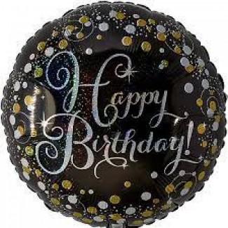 Prismatic Foil birthday Balloon