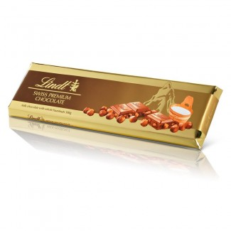 Lindt Gold Swiss Premium Chocolate Hazlnut
