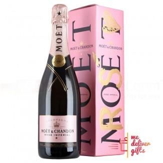 Moet Champagne Brut Rose 75cl