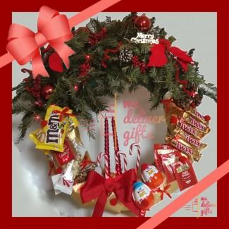 Christmas couronne