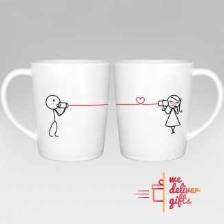 SAY I LOVE YOU COUPLE COFFEE MUGS