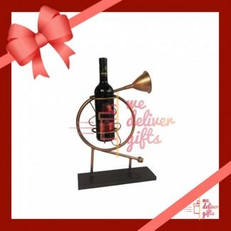 Brass Wine Stand