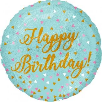 Woo hoo Birthday Balloon