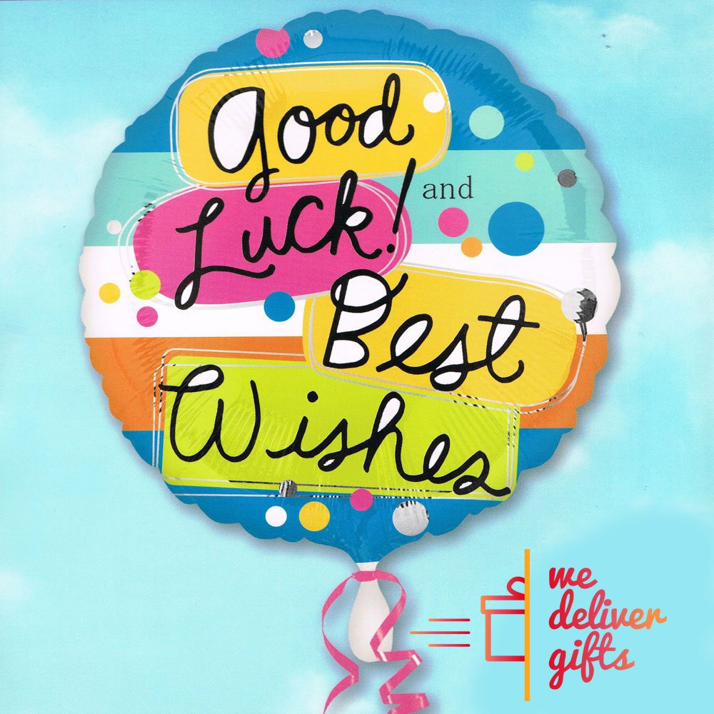 Good Luck Best Wishes Balloon We Deliver Gifts Lebanon