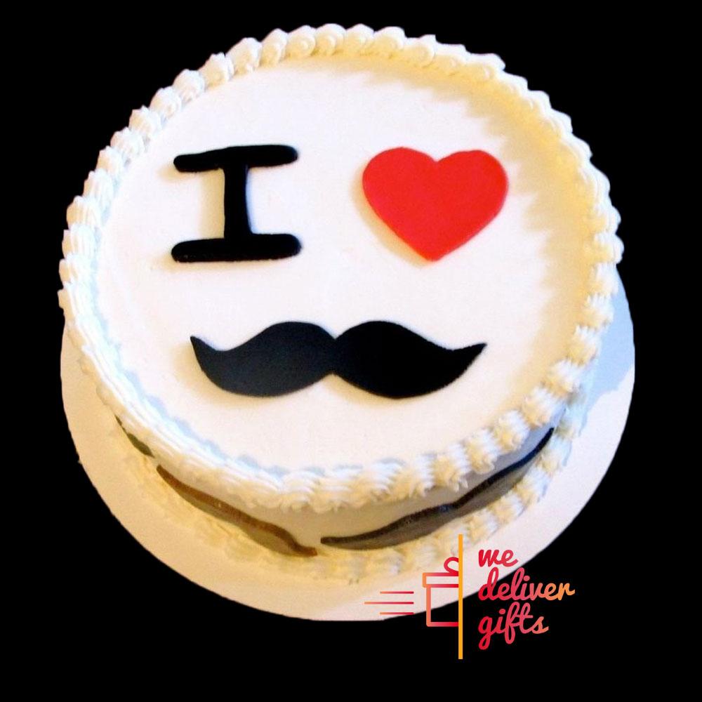 I Love My Man Cake For Him
