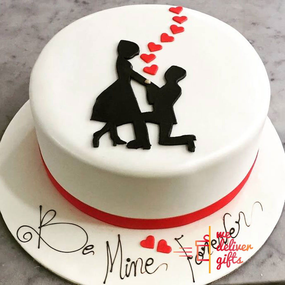 Be Mine Cake We deliver gifts Lebanon