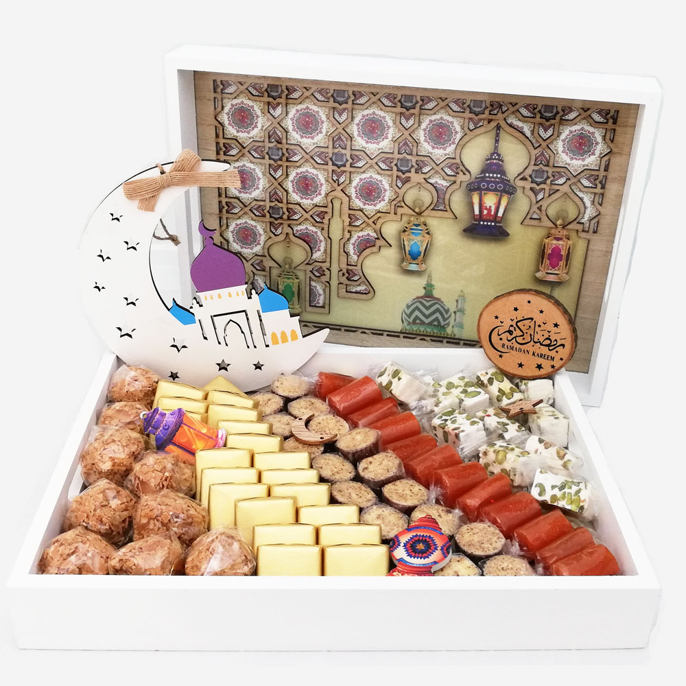 Ramadan Luxurious Choco and Malban Tray | WeDeliverGifts