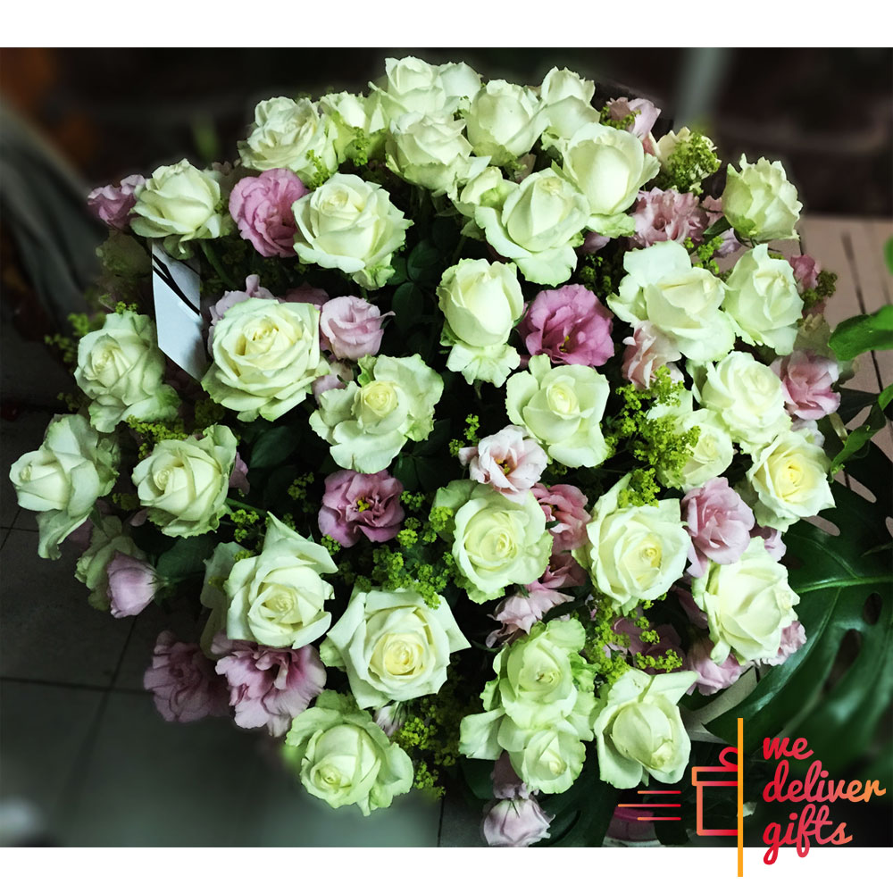 Sweet As Sugar Flowers Bouquet We Deliver Gifts Lebanon