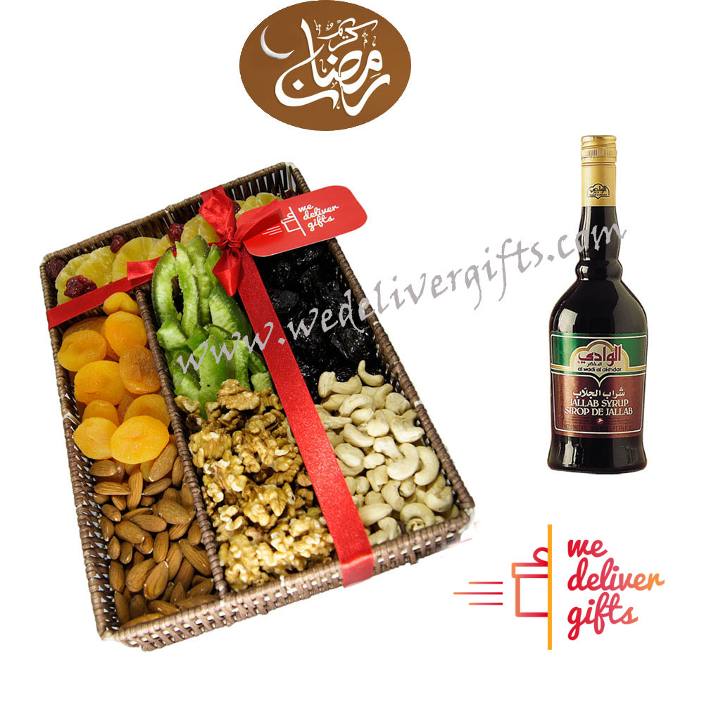 Ramadan Dried fruits and Jallab Syrup | We deliver gifts ...