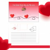 You & Me Card Message