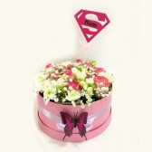 Super MOM Flower Box