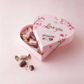 Fazer Pink Heart Chocolate Box