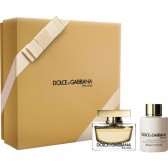 DOLCE and GABBANA COFFRET PARFUM THE ONE FEMME