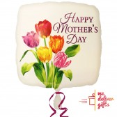 Mothers Day with printed Tulips Balloon