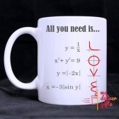 Mathematics Love Mug
