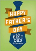Happy Father's day Tie Greeting Card